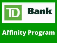 TD Bank Affinity Program Logo